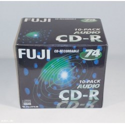 FUJI CD-R 74 AUDIO Rohlinge (10er-Pack)